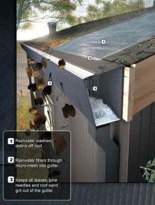 How rain gutters work